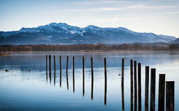 Chiemsee lake Royalty Free Stock Photography