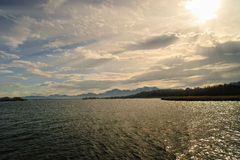 Water lake Stock Images