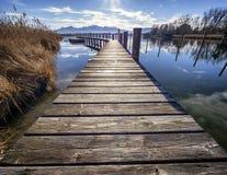 Chiemsee lake Royalty Free Stock Photo