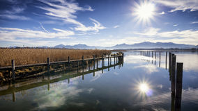 Chiemsee lake Stock Images