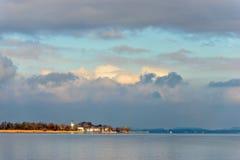 Chiemsee sjö Fotografering för Bildbyråer