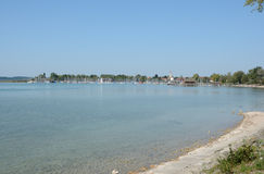Chiemsee sjö i Tyskland Royaltyfria Bilder