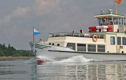 Chiemsee tourist ferry Stock Photography