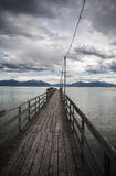 Chiemsee view Stock Photos