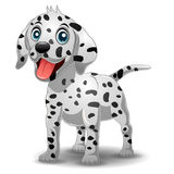Chien dalmatien mignon Images stock