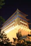 Beijing China night cityscape Stock Images