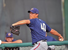Chien-Ming Wang - Washington Nationals Pitcher Royalty Free Stock Photos