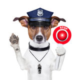 Chien policier Photo libre de droits