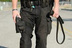 Chien policier Image stock