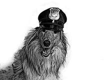 Chien policier Image libre de droits