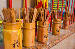 Chien Tung fortune sticks Royalty Free Stock Photo