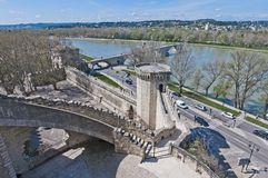 Chiens Tower at Avignon, France Royalty Free Stock Image