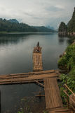 Chieou Laan lake, Thailand Stock Photos