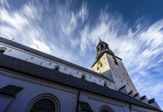 Chiesa Aalborg di Budolfi fotografia stock