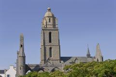 Chiesa aBatz-sur-MER in Francia Fotografia Stock