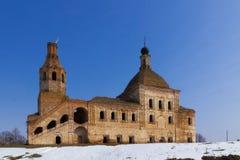 Chiesa abbandonata fotografie stock