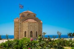 Chiesa Agios Georgios, Cipro immagine stock libera da diritti