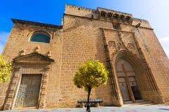 Chiesa Alicante Spagna di Javea Xabia Sant Bertomeu Fotografia Stock