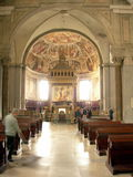 Chiesa all'interno di 2 immagine stock