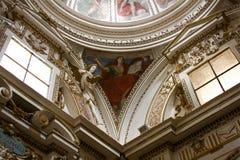 Chiesa all'interno, l'Umbria Immagini Stock Libere da Diritti