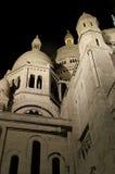 Chiesa alla notte Immagini Stock