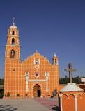 Chiesa almoloyan del San Miguel Fotografie Stock Libere da Diritti