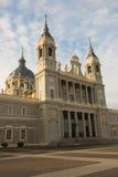 Chiesa Almudena, Madrid, Spagna della cattedrale Fotografia Stock