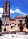 Chiesa, Alora, Spagna. Fotografia Stock Libera da Diritti