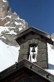 Chiesa alpina Immagine Stock