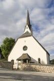 Chiesa in Alta Badia Immagine Stock Libera da Diritti