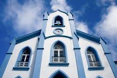 Chiesa in Altares fotografie stock libere da diritti