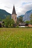Chiesa in Altaussee Austria Immagine Stock Libera da Diritti