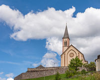 Chiesa in Alto Adige Lizenzfreie Stockfotos