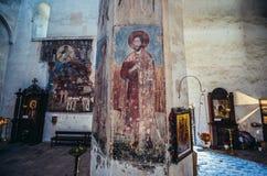 Chiesa in Ananuri Immagine Stock Libera da Diritti