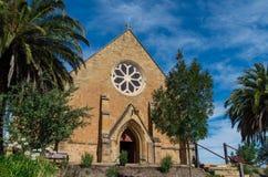 Chiesa Anglicana della chiesa di Cristo in Castlemaine Fotografia Stock