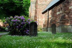 Chiesa Anglicana a Stoccolma Fotografia Stock Libera da Diritti