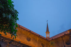 Chiesa Anglicana (Tientsin) Immagine Stock