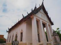 Chiesa antica del tempio buddista tailandese Immagini Stock Libere da Diritti