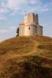 Chiesa antica sulla collina Fotografia Stock