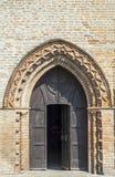 Chiesa antica vicino a Felonica Fotografia Stock