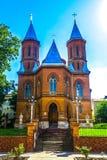Chiesa armena di Cernivci fotografia stock