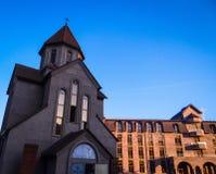 Chiesa armena in Krasnodar Fotografie Stock