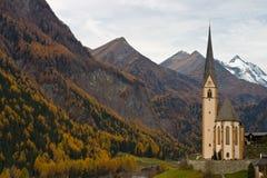 Chiesa in Austria Fotografia Stock Libera da Diritti