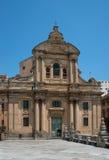 Chiesa Badia in Ragusa. Sicily, Italy. Stock Photography