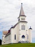 Chiesa, baia della st Peter, PEI, Canada Immagine Stock Libera da Diritti