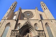 Chiesa a Barcellona Fotografia Stock