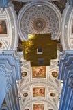 Chiesa barrocco Fotografia Stock Libera da Diritti