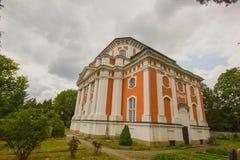 Chiesa barrocco - lo Schlosskirche Buch - in alt Buch Berlino Fotografia Stock