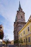 Chiesa barrocco ritardata di stile Fotografia Stock