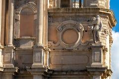 Chiesa barrocco siciliana immagini stock